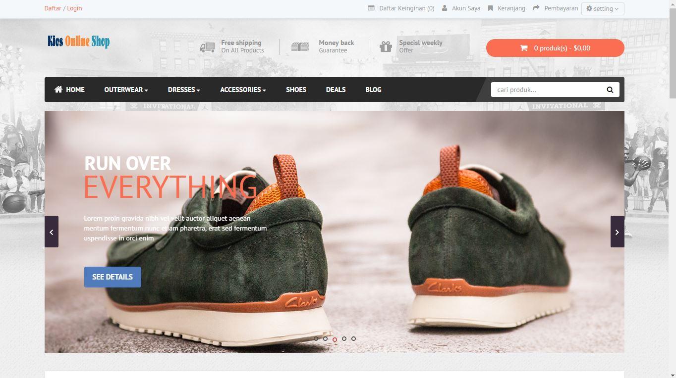 demo toko online